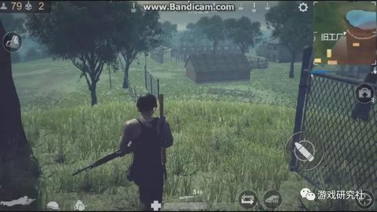 官方早期公布的游戏画面