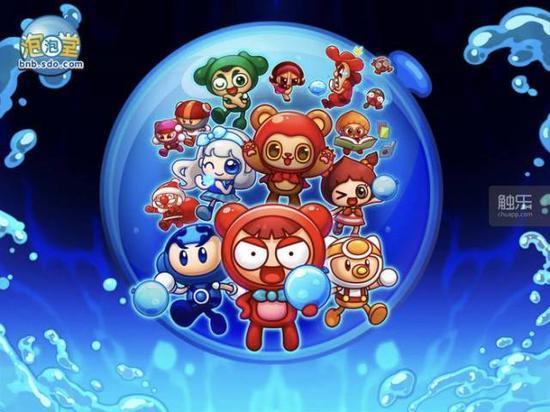 《泡泡堂》是休闲网游的代表作,玩法和角色造型均深入人心