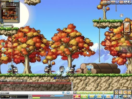 《冒险岛》开辟了横版卷轴MMORPG的先河,也是一款长寿游戏,2011年韩服最高同时在线突破62万
