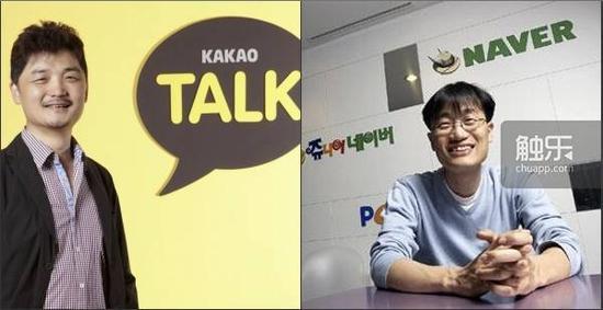 Kakao的创始人金凡秀和Naver、Line的创始人李海珍也出自首尔大学,他们曾在2001年联手组建NHN集团