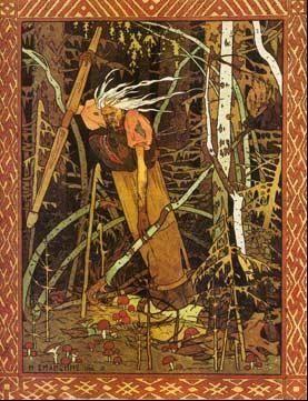 俄罗斯的老女巫也给了Bennett灵感