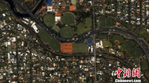 """""""吉林一号""""视频04-06星传回的视频截图(长光卫星供图)"""