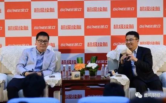 卢伟冰(左)和刘立荣(右)