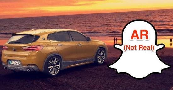 Snapchat与BMW合作推AR广告 期望创造新营收方式