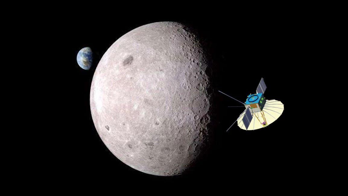 首个月球信号中继卫星上天!嫦娥四号探索月背第一步