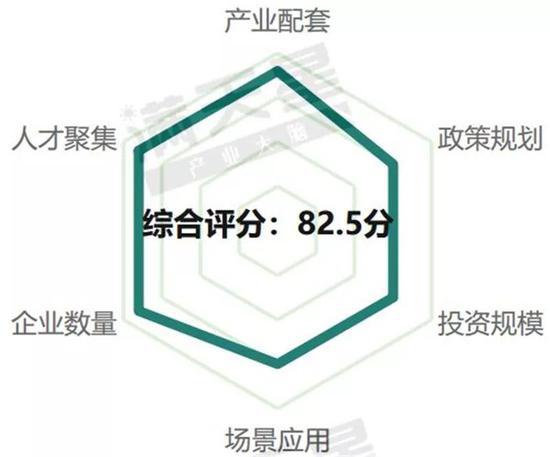 ▲武汉5G通信产业发展评分