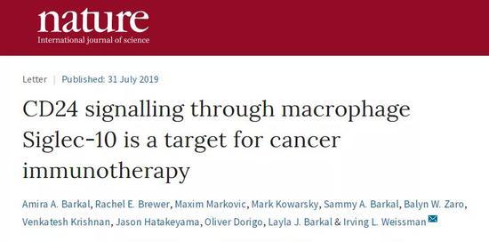 科学家找到癌细胞伪装机制,有望带来新型免疫疗法