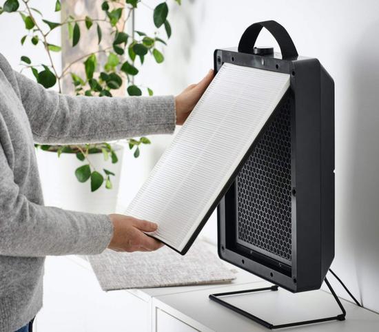 宜家发布新款空气净化器 外观时尚使用成本极低