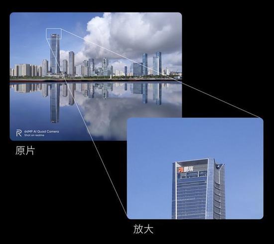 realme展示6400万像素照片