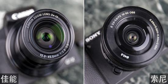 除了传感器核心规格相似之外,两套设备的镜头参数也基本相同
