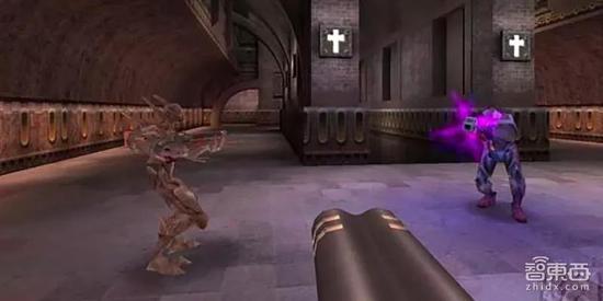 ▲《雷神之锤》游戏画面