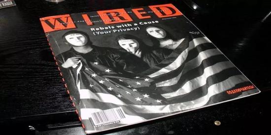 1993年,密码朋克登上《连线》杂志封面