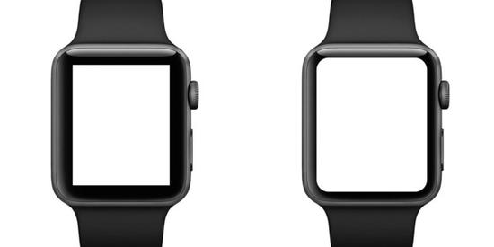 新款Apple Watch边框更窄(图源:Technobezz)