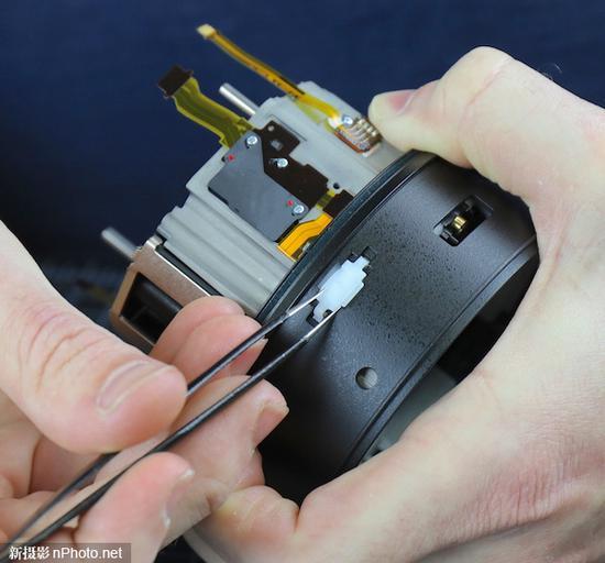 LensRentals拆解索尼FE 135mm F1.8 GM镜头