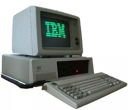 IBM第一台个人电脑5150,使用英特尔8086芯片