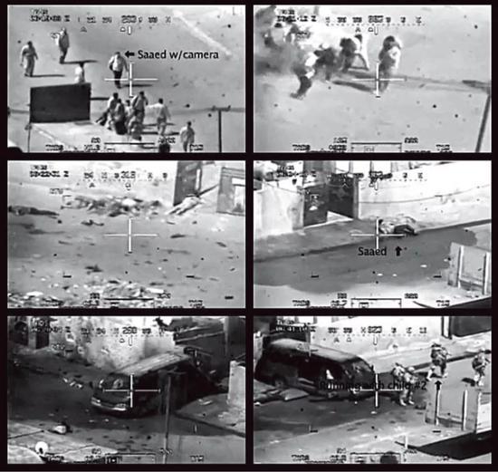 维基解密曝光的伊拉克录像视频截图