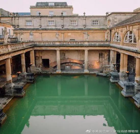 罗马大浴场 |@英国巴斯·罗马浴场博物馆