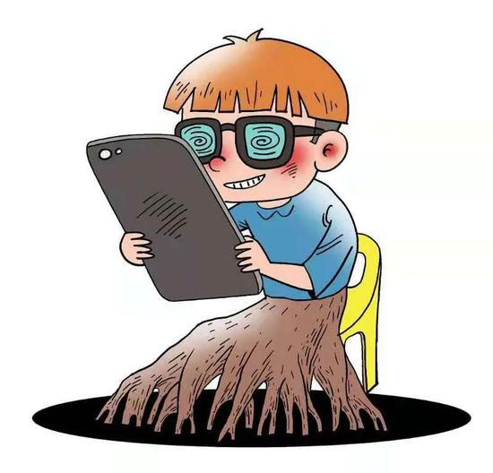半月谈:想毁掉一个农村娃,就给他一部手机?