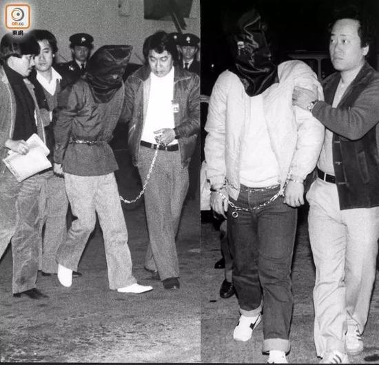 被逮捕的吴建东,香港,1984年