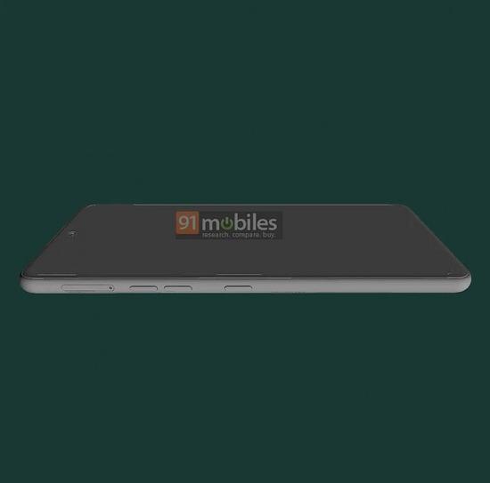 LG Stylo 7渲染图曝光 6.8吋打孔屏 配专用手写笔插槽