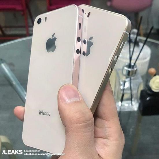 iPhoneSE2背部谍照(图片引自LEAKS)