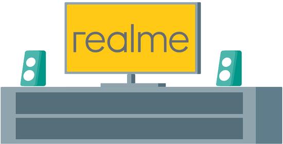 传realme将于MWC推出首款智能电视