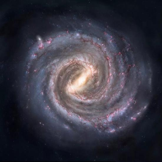 壮观的银河系