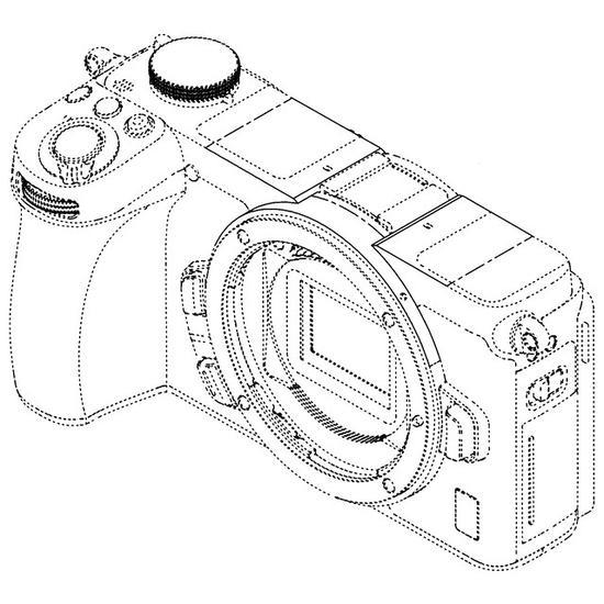 <b>无EVF取景器 尼康泄露Z系列APS-C无反相机设计图</b>