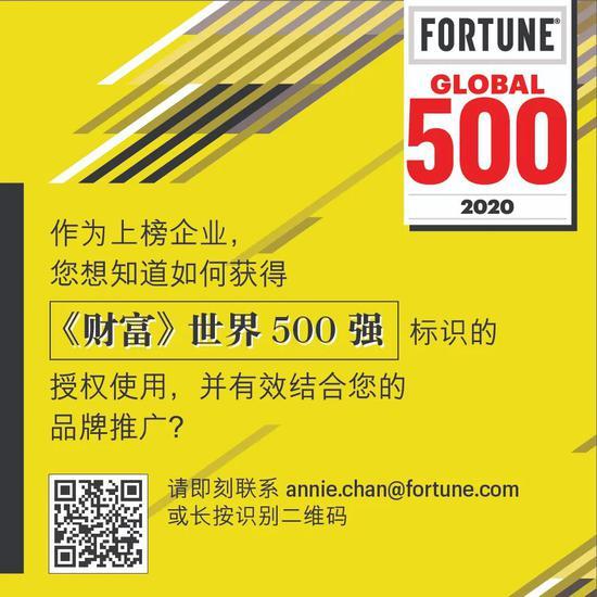 2020年《财富》世界500强盈利排行:苹果第3、微软第5