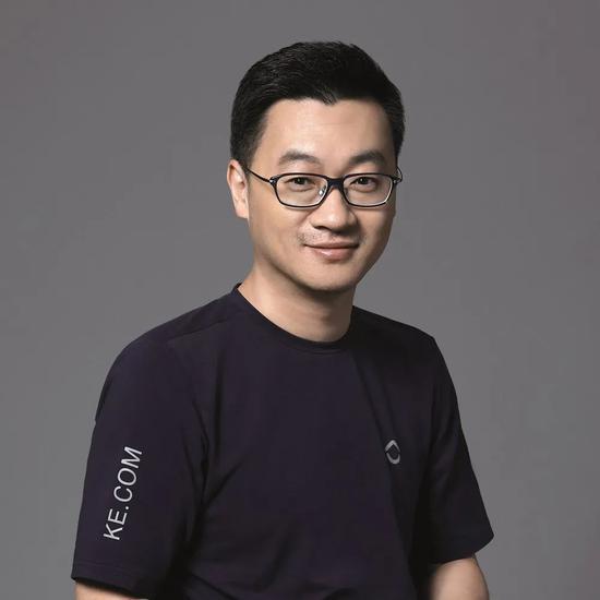 贝壳找房联合创始人、CEO彭永东。