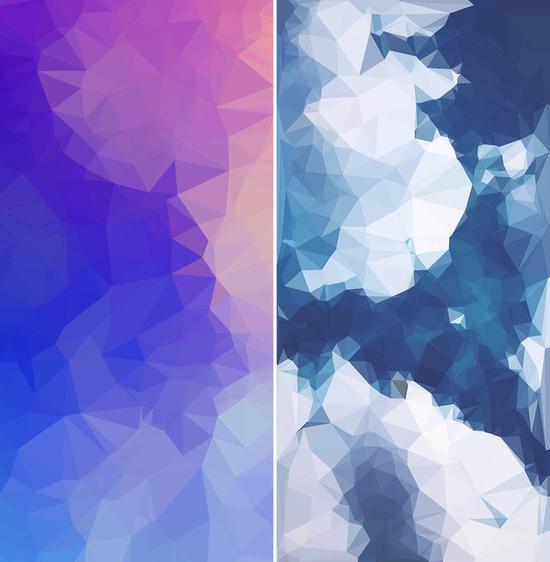 ▲ 用手机 app 将图片转化为 Low Poly 风格