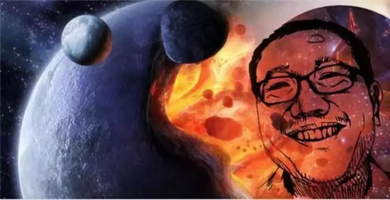 对于刘慈欣来说,科幻就是他的精神家园。