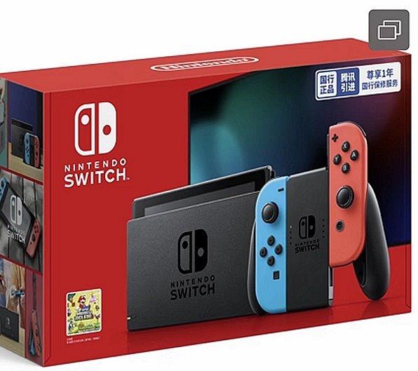 国行版Switch细节曝光:2099元售价、12月上市