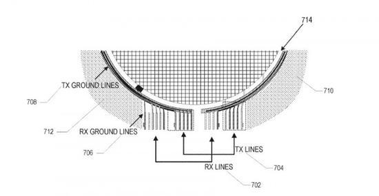 新专利申请显示苹果公司希望在屏幕上嵌入天线以及Touch ID