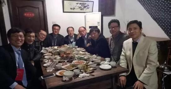 ▲2017乌镇饭局 右四为田溯宁