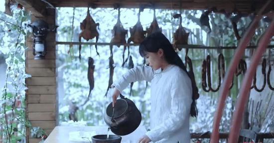 图片来源于李子柒视频