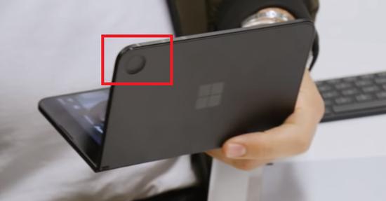SurfaceDuo户外曝光:有前置摄像头和闪光灯