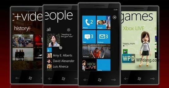 windows phone,图源微软中国官方微博