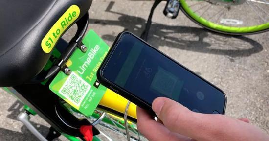 美国本土共享单车LimeBike