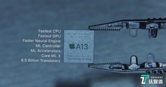 A13 仿生芯片特色一览