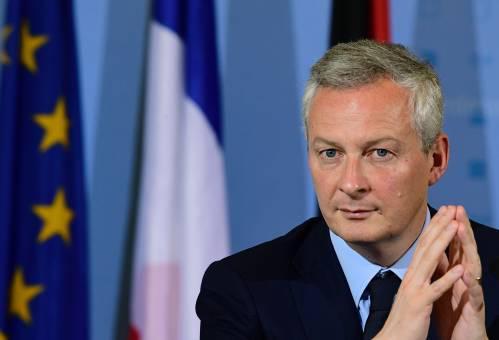 图为法国经济与财政部长勒梅尔。新华社/法新