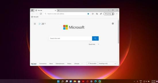 """微软Edge浏览器正测试""""启用Win11视觉设计更新"""""""