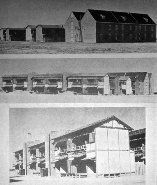 德日小镇的建筑图片来源:national defenseresearch committee