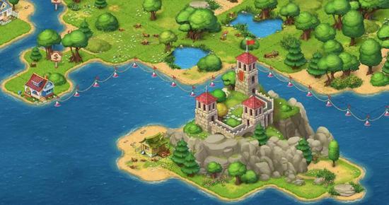 游戏中的湖景房
