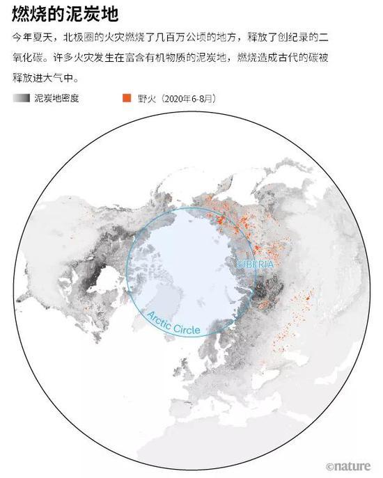 冰雪下的火焰:前所未见的北极野火燃烧了什么?