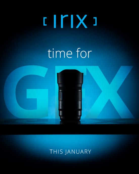 Irix将发布富士GFX中画幅镜头