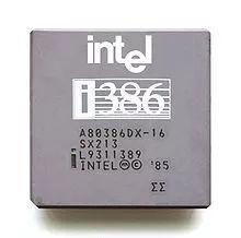 80386是80x86系列中的第一种32位微处理器