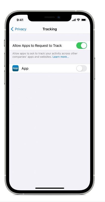 """苹果解释为何iOS 14.5""""允许App请求追踪""""按钮是灰色"""