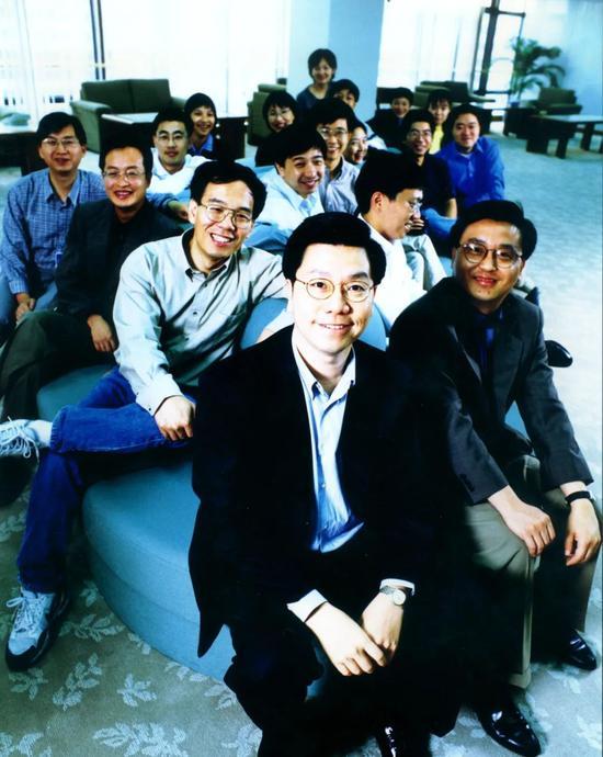 微软中国研究院同事合影