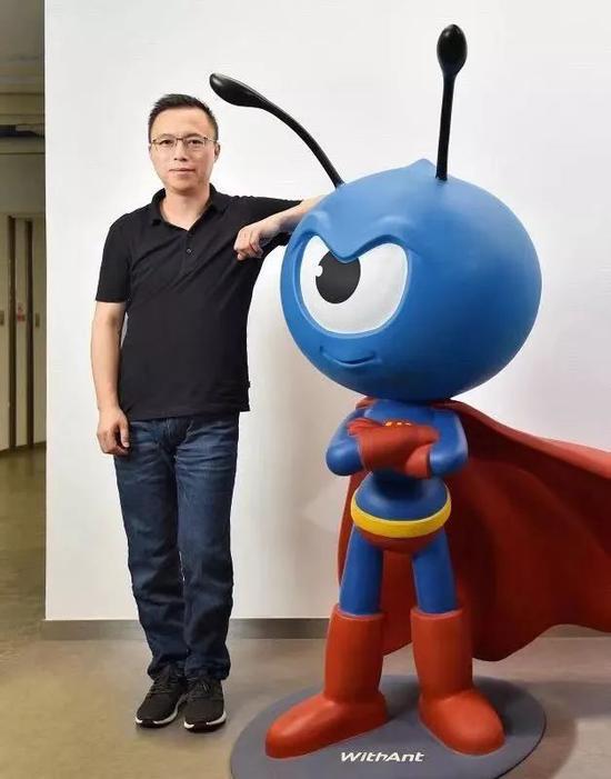 蚂蚁金服董事长井贤栋。
